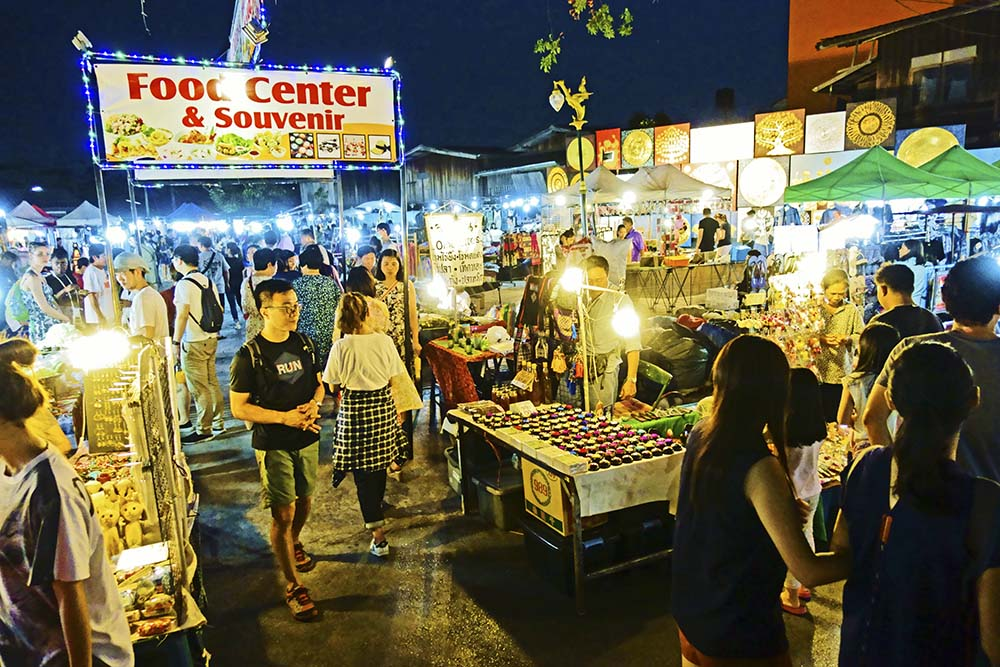 泰国游:清迈大型夜市